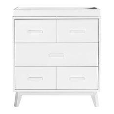 Scoot 3-Drawer Changer Dresser, White