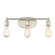 Trendy Industrial Bathroom Vanity Lights for 2018 Houzz