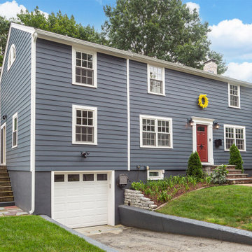 After - Composite Siding, Asphalt Roof & Marvin Windows in Quincy, MA 02169