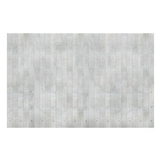 Smooth Concrete Mural Wallpaper, 4 Panels
