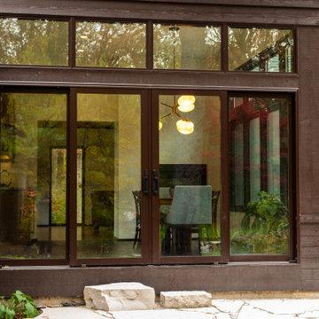 Modern Addition in Libertyville - Rear Elevation