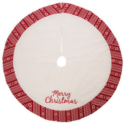 Traditional Christmas Tree Skirts by Glitzhome