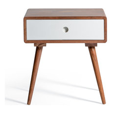 50 most popular midcentury modern nightstands and bedside tables for Modern Nightstands Cheap