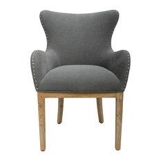 Elizabeth Wing-Backed Chair