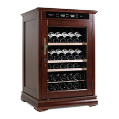 mQuvée Wine Cabinets - American Oak 72 Brown