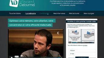 Vincent Delourmel Charte graphique