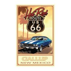 "Paul A. Lanquist Gallup New Mexico Art Print, 30""x45"""