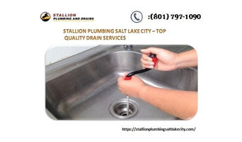Reliable drain cleaning services by Salt Lake plumber