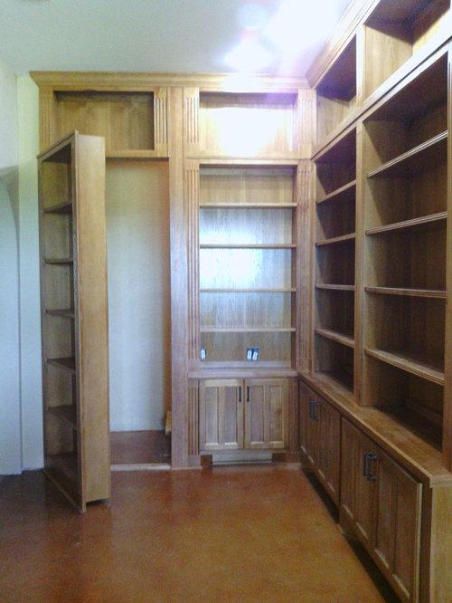 Invisidoor hidden door bookcase for Secret storage bookcase