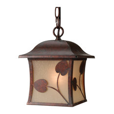 Hardware House Madison Outdoor Pendant, Royal Bronze