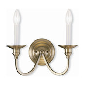 Livex Lighting - 5142-01 - Cranford - Two Light Wall Sconce