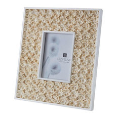 dimond home dimond home natural shell bud 5x7 frame picture frames