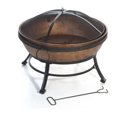 Kay Home Products - Avondale Steel Fire Bowl - Fire Pits