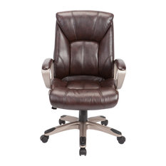 AC Pacific Corporation   Adjustable Brown Swivel Office Chair   Office  Chairs