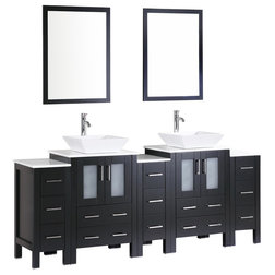 Fancy Contemporary Bathroom Vanities And Sink Consoles by Bosconi