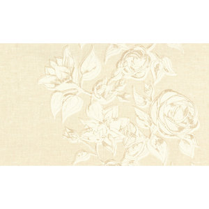 Boutique Rose Wallcovering, Neutral VBR603