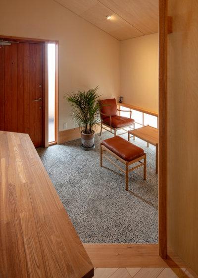 玄関 by 中村聖子/横山設計室