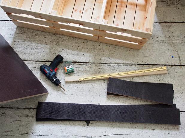 Transforma un cajón de IKEA en un asiento con almacenaje