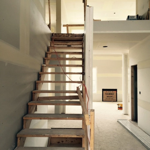 Stairs In Two Storey Foyer