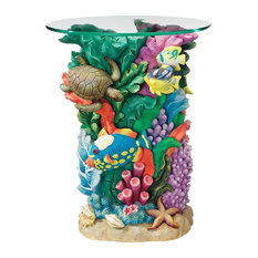Great Barrier Reef Glass-Topped Table