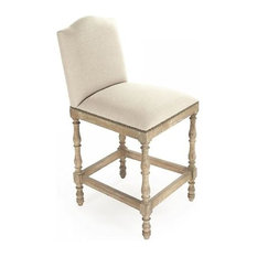 Side Chair Dining ARIA Recycled Oak Cotton