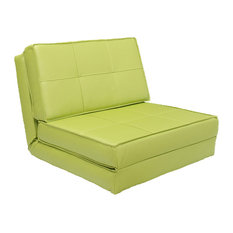Gold Sparrow   Baltimore Convertible Chair Bed, Green   Sleeper Chairs
