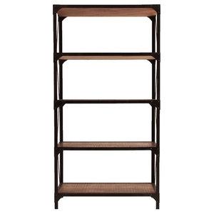 Eredine Tall Industrial Bookcase