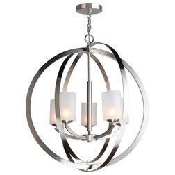 Transitional Chandeliers by Woodbridge Lighting Inc.