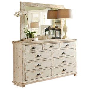 Progressive Furniture Willow Drawer Dresser, Dresser Only