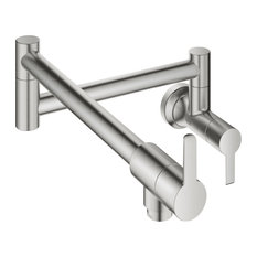 Grohe 31 075 2 Ladylux L2 1.75 GPM Wall Mounted Pot Filler - SuperSteel