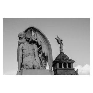"""Kiss of Death"" Photo Print, Aluminium, 40x30 cm"