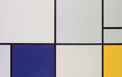 Interiors Need Energy? Look to Mondrian's Paintings for Inspiration