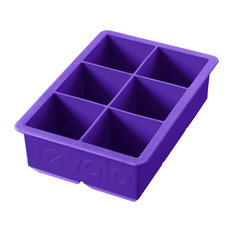 Tovolo Vivid Violet Silicone King Cube Ice Tray