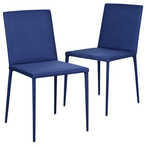 Ikaalinen Chairs, Blue, Set of 2