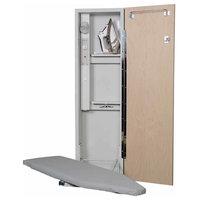 Deluxe Swivel Ironing Center, Flat White Door