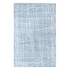 Bashian Paige Light Blue Area Rug, 5.6'x8.6'