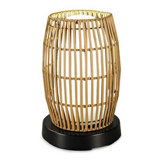 Patio Living Concepts Patioglo Led Lamps Table Lamp Bright White - Resin Bamboo