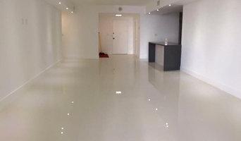 Floor, interior paint