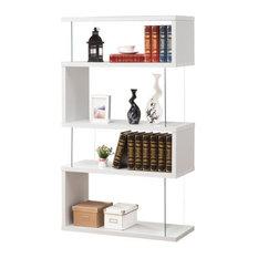 Coaster Bookcase, White