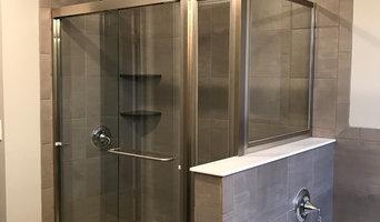 Shower Doors Installed