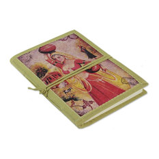 Postcard From Rajasthan Handmade Paper Journal