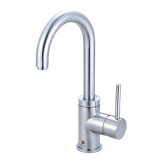 Single Handle Lavatory Faucet, PVD Stainless Steel
