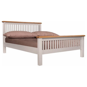 Ventry Bed, Euro King, Slatted