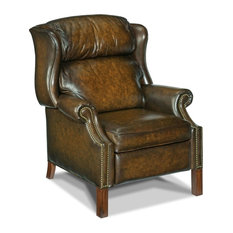 Hooker Furniture RC214-203 33-1/4 Inch Wide Leather Recliner from the Finley Co