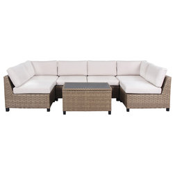 Transitional Outdoor Lounge Sets by Houzz