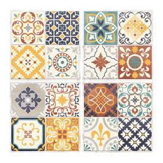 StickTILES Spanish Terracotta Peel and Stick Tile, Set of 4
