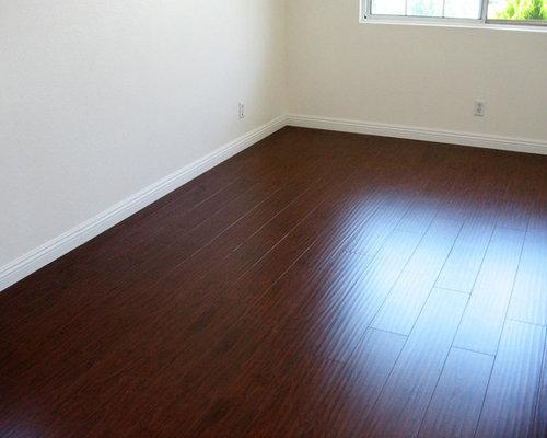 Dark Mahogany Distressed Laminate Floor