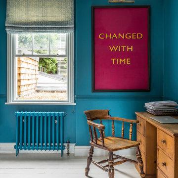 Study Room in Georgian Home, London