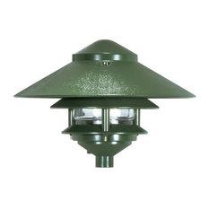 "3 Louver Large 10"" Top Pagoda"