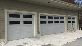 Before & After Garage Door Painting in Steger, IL